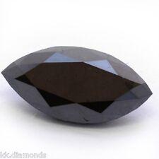 3.0 ct natural black Diamond Marquise cut Loose Diamond, Diamond Wedding ring 00