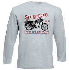 BMW R60 1972 - GREY LONG SLEEVED TSHIRT- ALL SIZES IN STOCK