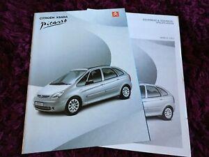 Citroen Xsara Picasso Brochure 2002 - Nov 2011 UK issue
