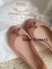 Melissa x Vivienne Westwood Nude anglomania Scented flats jelly matte shoes 5