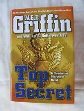 Top Secret by W. E. B. Griffin & William E. Butterworth IV 2014 HC