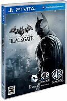 USED PS Vita Batman: Arkham Begins Black Gate Play Station Japan Import