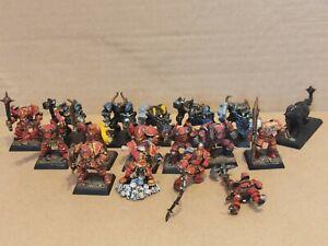 Warhammer Age Of Sigmar Chaos Warrior Job Lot
