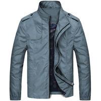 Mens Military Style Rain Jacket Light Sports Cycling Windproof Walking Thin Coat