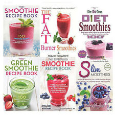Smoothie Recipe Book 6 Books Collection Set The Fat Burner Smoothies,The Slim-It
