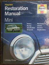 Haynes Mini Restoration Manual by Lindsay Porter (1999, Hardcover) (H440)