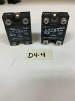 Crydom A2440 International Rectifier solid State relay 240Vac(Lot Of 2)