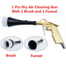 Car Auto Dry Cleaning Gun Brush Interior Clean Spray Tool For Vehicle Motorcycle