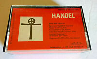 George Frideric Handel The Messiah English Chamber Orchestra Choir 2 Cassettes