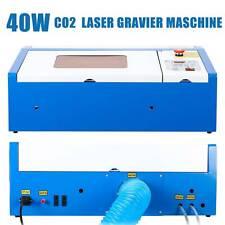 40W CO2 Laser Graviermaschine Cutting Engraver Graveur Gravierfräsmaschine