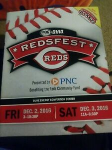 Redsfest Program 2016 REDS team photo back page
