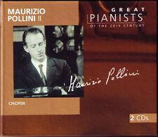 Maurizio POLLINI 2 GREAT PIANISTS OF THE 20TH CENTURY 2CD Chopin Concerto Sonata