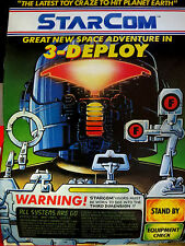 StarCom Great New Space Adventure in 3-Deploy GREAT 3-D comic Gary Leach art VF