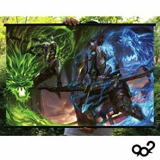 Game Overwatch Genji Hanzo Home Decor Poster Wall Scroll 40*60 cm