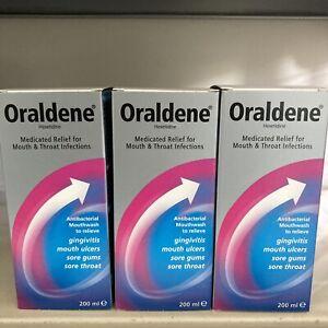 3X Oraldene Mouthwash Original - 200ml