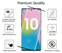 Lot Full Cover Tempered Glass Screen Protector For Samsung Galaxy S10+ S10e N10