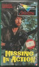 Missing in Action (1987) VHS