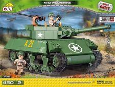 COBI M-10 Wolverine / 2475 / 450  blocks WWII US Army tank Small Army