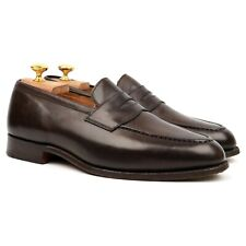 Tricker's 'Harvard' Brown Leather Loafers UK 7.5