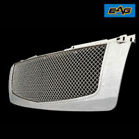 EAG Fit for 07-14 Chevy Tahoe/Avalanche Chrome Mesh Grille with Shell