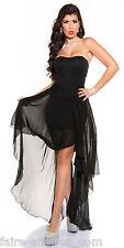 Vêtements FEMME / FILLE Longue Robe à voile NOIRE / Fashion / Taille : 38 40