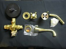 "Sigma 1000994.5540 Thermostatic Shower & TUB Set (Valve & Trim) ""Polished Brass"""
