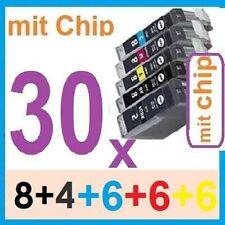 30x Patronen für Canon PIXMA MP530 MP600R MP610 MP810 MP830 MX700 MX850 mit chip
