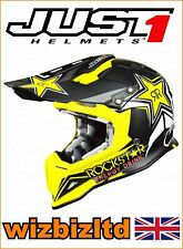 just1 Mx Casco J12 CARBONO - Rockstar 2.0 - XL jus101xl