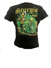 T Shirt Sturgis Motorcycle Rally 2021 official 81st biker Harley Event Skull bes