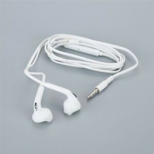 3.5mm In-Ear Soft Earbud Wired Earphone Music Stereo headphone  For Samsung S6