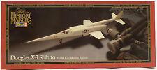 Aviation: douglas X-3 stiletto model kit fabriqué par revell au 1983 (mlfp) a commencé