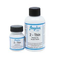 Angelus Brand 2-Thin acrylic leather paint thinner 4 oz.