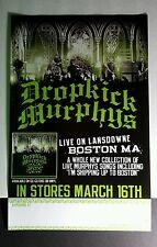 Dropkick Murphys Live On Lansdowne Boston Ma Green Band 11x17 Music Promo Poster