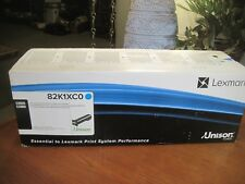 NEW! GENUINE Lexmark 82K1XC0 Cyan EXTRA HIGH YIELD Toner Cartridge CX825 CX860