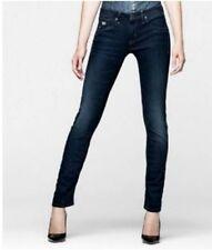 Vaqueros pantalones de mujer G-Star arco 3D Súper pitillo Wmn talla W27 L28