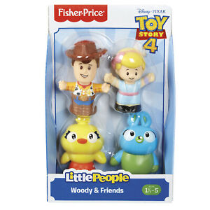 LITTLE PEOPLE DISNEY PIXAR TOY STORY WOODY AND FRIENDS BO PEEP DUCKY BUNNY
