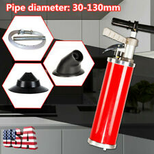 """Upgraded Pipe Dredging Device Kinetic Water Ram Drain Clean Tools 4"""" 30-130mm"""