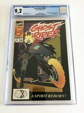 MARVEL COMICS Ghost Rider #v2 #1 CGC GR 9.2 White Pages 5/90 Deathwatch Kingpin
