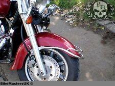 Yamaha XVZ 1300 Royal Star Guardabarros Delantero XVZ1300 Cromo Parachoques ajuste carril