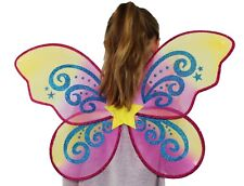 Fairy Wing and Wand Set- Star Design Adults/children large butterfly wings