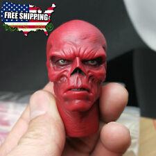 1/6 Red Skull Hugo Weaving Head Sculpt For Captain America Hot Toys Figure ❶USA❶