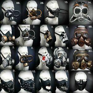 Steampunk Respirator Gas Mask Plague Doctor Mouth Mask Masquerade Halloween Mask