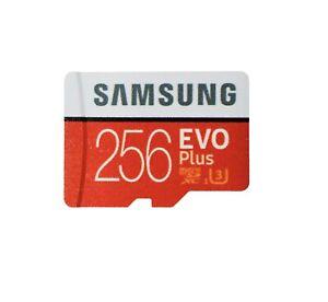 256GB Samsung MicroSDXC Evo Memory Card for Nintendo Switch, GoPro Hero7 Hero8