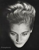 1930 Original MAN RAY Surreal Floating Female Portrait Vintage Photo Gravure Art
