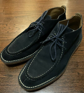 Cole Haan & Todd Snyder Navy Suede Chukka Boot Size 11