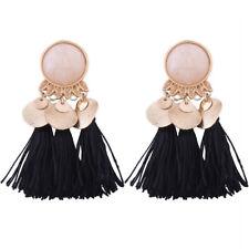 Multicolored Long Hanging Drops Earing Jewelry Vintage Tassel Earrings For Women