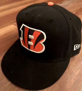 New Era Cincinnati Bengals 59fifty Hat Cap 7 1/2 Joe Burrow AJ Green