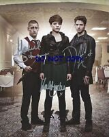 BEING HUMAN UK - HAND SIGNED PHOTO WITH COA - ALL 3 MAIN CAST ORIGINAL PHOTO