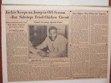 85-Page  Album/Sporting  News Photos/Articles/1935-1957/JACKIE  ROBINSON/TY COBB