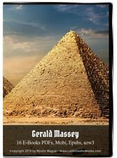 Gerald Massey Jesus Gnosis Egypt Beginnings Lectures EBooks On CD / DVD w/case